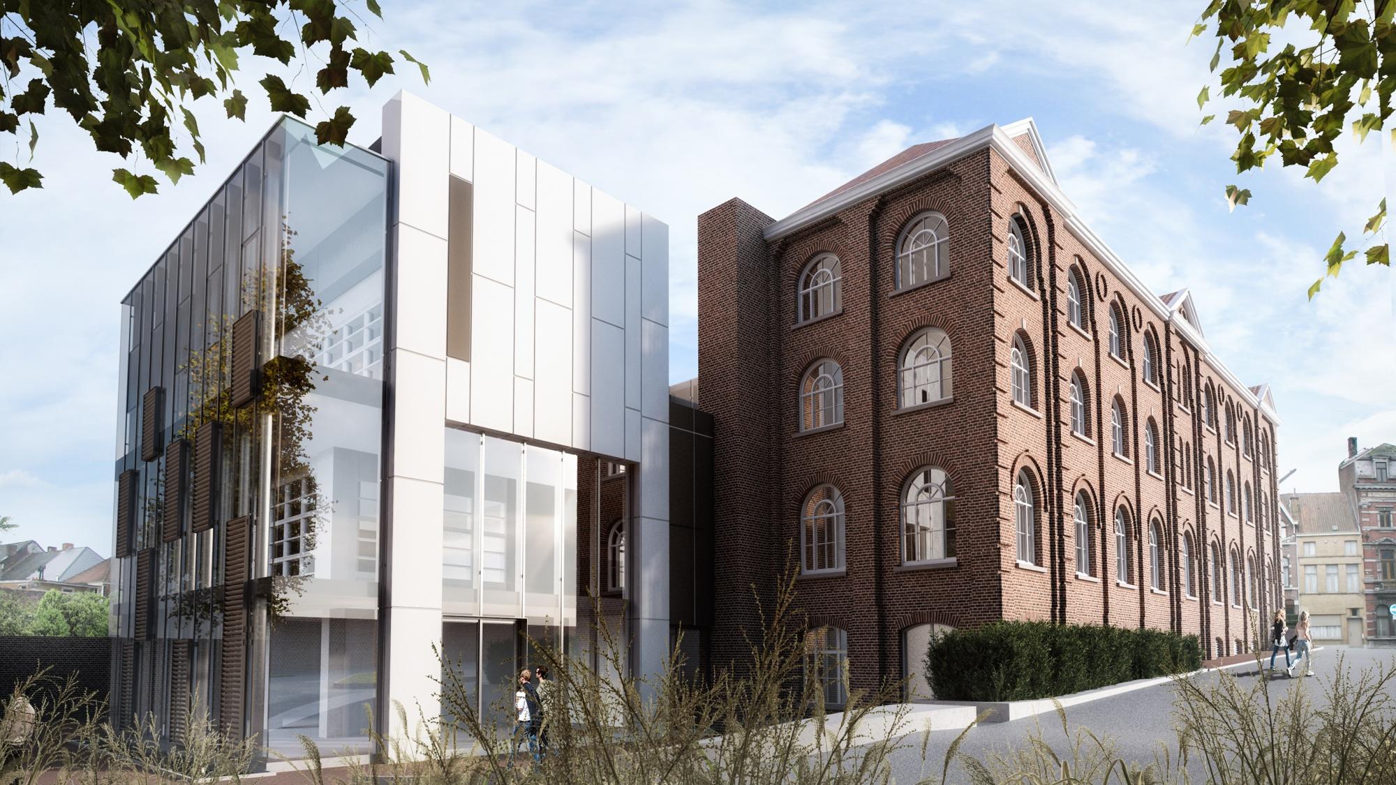 Realisatie van PM Architecten gelegen in Ronse