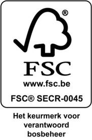 Logo FSC Het keurmerk voor verantwoord bosbeheer