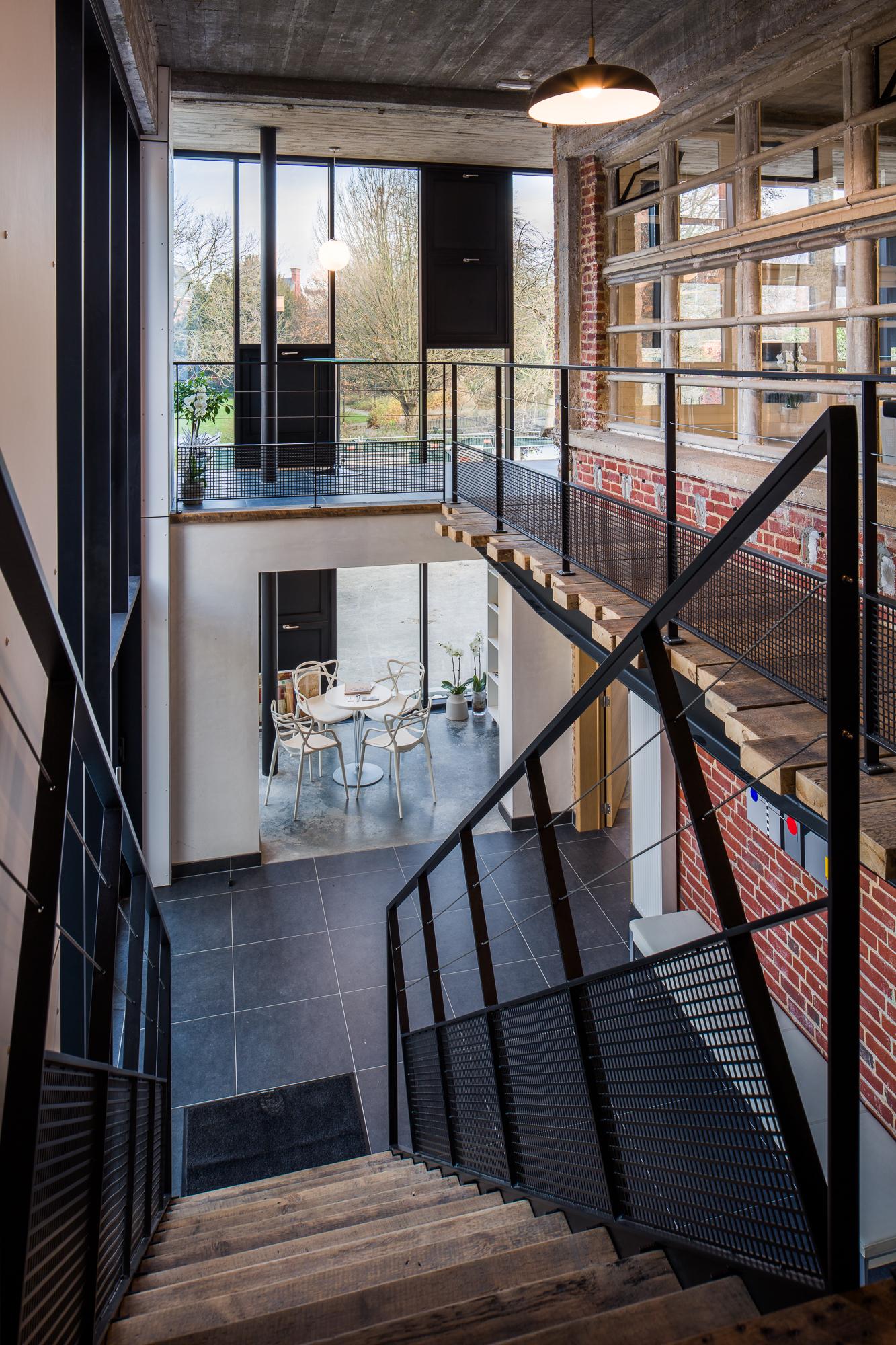 Architectuur - gebouw - open ruimte