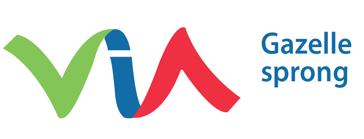 Gazelle sprong logo VIA