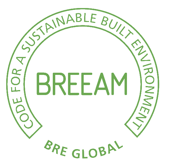 Logo BREEAM - Code for a sustainable built environment